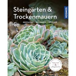 Steingärten und Trockenmauern (Mein Garten): Buch von Angela Beck