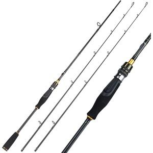 Sougayilang Angelrute, leichte 30-Ton Kohlefaser Spinnen Angelruten, Ultra-Sensitive Guss & Spinning Rods, Twin-Tips Forelle Rod-Z180