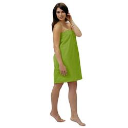 Sarong, Lashuma, - das hochwertige Sauna Zubehör für Damen grün