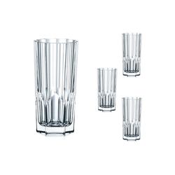 Nachtmann Glas Aspen Longdrink Set 4tlg, Kristallglas