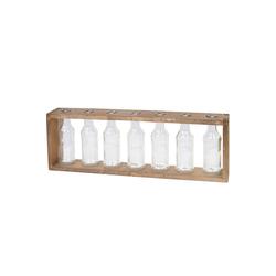 MCW Dekovase MCW-A43-Vase, Shabby-Look, 7 Flaschen