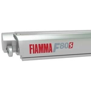 Markise FIAMMA F80 S 425 Royal blue Gehäuse titanium