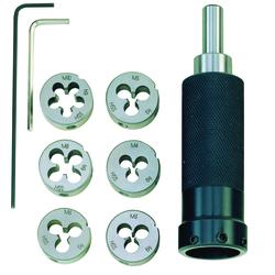 Proxxon Schneideisenhalter mit Schneideisen M 3-10