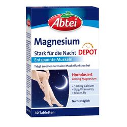 ABTEI Magnesium Stark für die Nacht Depot Tabl. 30 St