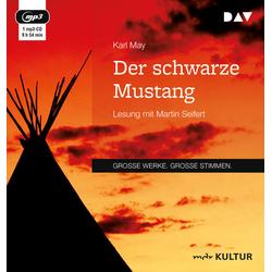 Der schwarze Mustang als Hörbuch CD von Karl May