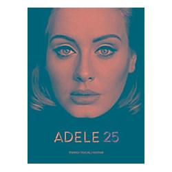 25  Songbook für Klavier  Gesang  Gitarre. Adele  - Buch