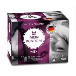 Mein Kondom Kondome Mix, fair/vegan, 40er Box, 1 St.