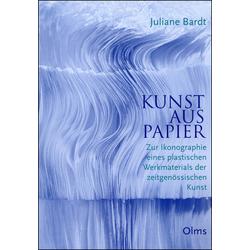 Kunst aus Papier als Buch von Juliane Bardt