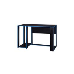 HTI-Line Schreibtisch Schreibtisch Gamer, Schreibtisch blau