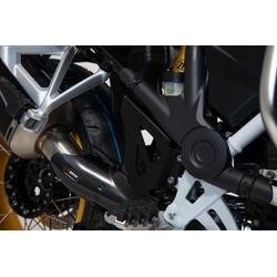 SW-Motech Remcilinder beschermer set - Zwart. BMW R1200GS, R1250GS.