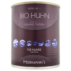 (5,71 EUR/kg) Herrmanns Bio Huhn mit Karotte und Reis 800 g - 6 Stück