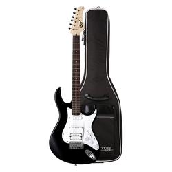 Cort G110 BK3 E-Gitarre Black SET BAG