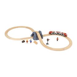 BRIO® Spielzeug-Eisenbahn Eisenbahn Starter Set A 25-tlg.