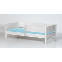 Kinderbett mit Absturzsicherung 90x200 cm in weiß - Kids Town