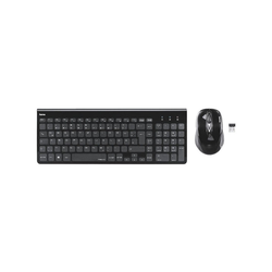 Hama Trento Wireless-Tastatur (Tastatur-Maus-Set)