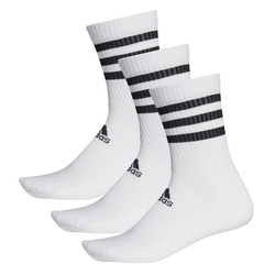 adidas Socken 3er-Pack, weiß, Gr. 19 - 21 - 19 - 21 - weiß