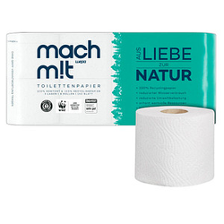 wepa Toilettenpapier mach m!t 3-lagig 8 Rollen