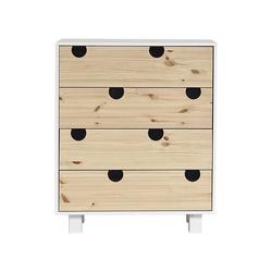 Karup Design Kommode Karup Design HOUSE Kommode mit 4 Schubladen, Weiß/