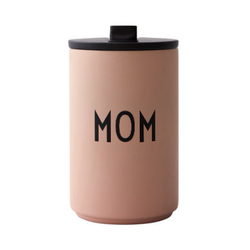 Design letters Thermobecher in nude MOM