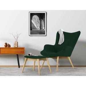COUCH♥ Sessel Ducon, wahlweise mit oder ohne Hocker, in drei Qualitäten und vielen tollen Farben grün