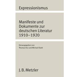 Expressionismus als Buch von