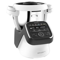 Krups Küchenmaschine HP 50A815 Prep&Cook XL - Küchenmaschine - schwarz/weiß, 1550 W weiß