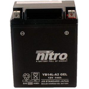Batterie 12V 14AH YB14L-A2 Gel Nitro GSX 1100 F GV72C 89-96