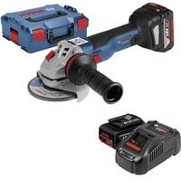 Bosch GWS 18V-125 C Professional inkl. 2 x 5,0 Ah + L-BOXX 0615990K5D