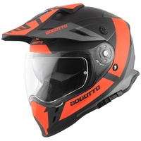 Bogotto V331 Pro Tour Endurohelm, orange, Größe 2XL