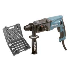 Bohrhammer HR 2470 inklusive 13-teiligem SDS Plus Bohr- und Meißelsatz