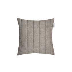 Zierkissenhülle Way in grau, 38 x 38 cm