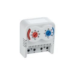 ARLI Gehäuselüfter ARLI Schaltschrank Thermostat 2 fach warm / kalt 0-60°C