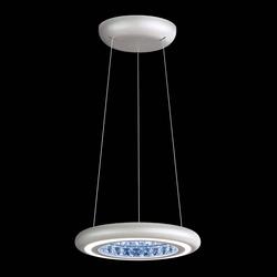 Swarovski Infinite Aura LED Pendellampe in Weiß mit klaren Kristallen