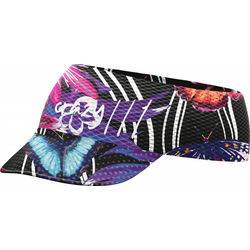 Crazy Idea Pacman Visor butterfly black
