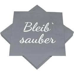 Servietten BLEIB SAUBER(BT 33x33 cm)
