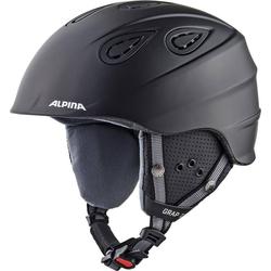 Alpina Sports Skihelm Skihelm Grap 2.0 black matt 54-57