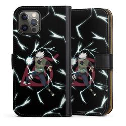 DeinDesign Handyhülle Kakashi Raikiri Apple iPhone 12 Pro, Hülle Kakashi Naruto Shippuden Offizielles Lizenzprodukt schwarz