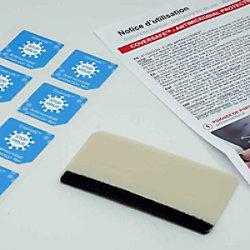 COALA Coversafe Antimikrobielle Folie 165 x 70 mm 30 Stück