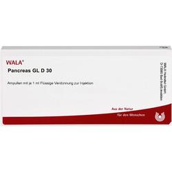 PANCREAS GL D 30 Ampullen 10 ml
