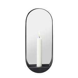 Gejst Glim Kerzenständer und Spiegel Schmal