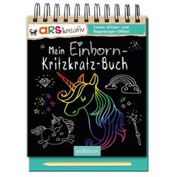 Mein Einhorn-Kritzkratz-Buch