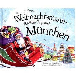 Der Weihnachtsmann-Schlitten fliegt nac als Buch von