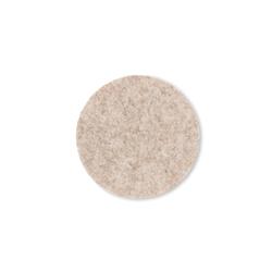 Kela Glas-Untersetzer Alia in beige, 10 cm