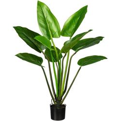 Künstliche Zimmerpflanze Philodendron Philodendron, Creativ green, Höhe 110 cm, 2er Set