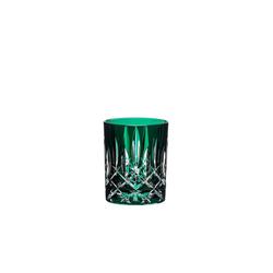 RIEDEL Glas Tumbler-Glas Laudon Dunkelgrün, Kristallglas grün