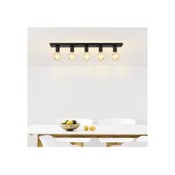lux.pro Deckenleuchte, Moderne Retro Deckenlampe Korinth - 5x E27
