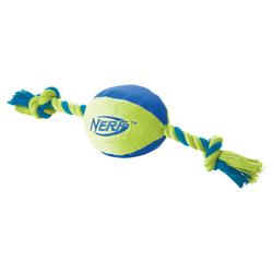 Nerf Dog Nylonfootball mit Tau