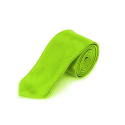 Krawatte Schlips schmal Binder Style - neon grün
