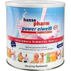 Hansepharm Power Eiweiß plus Himbeere-Vanille