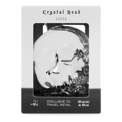 Dan Aykroyd's Crystal Head Vodka 1,0L (40% Vol.)